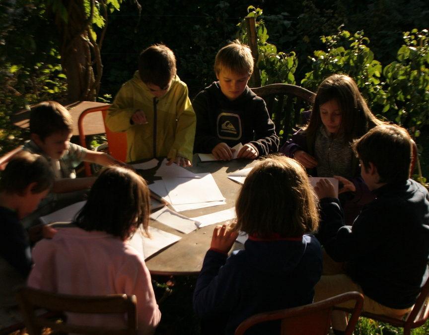 Atelier jardinage et nature pour enfants de 6 à 11 ans à Annecy