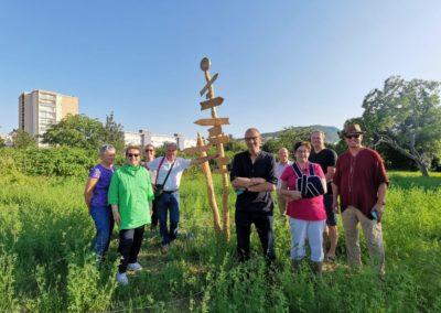 Conception de Green Terranga une zone de permaculture et lieu d'échange à Annemasse